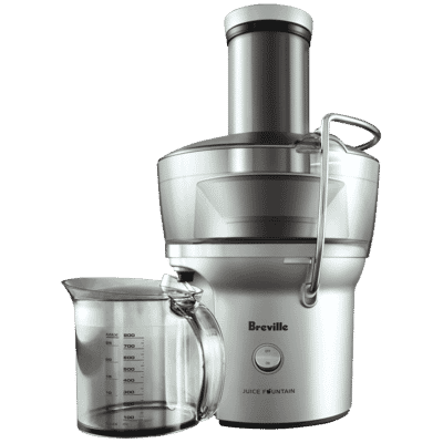 Breville - Juice Fountain Compact Juicer - Stainless Steel