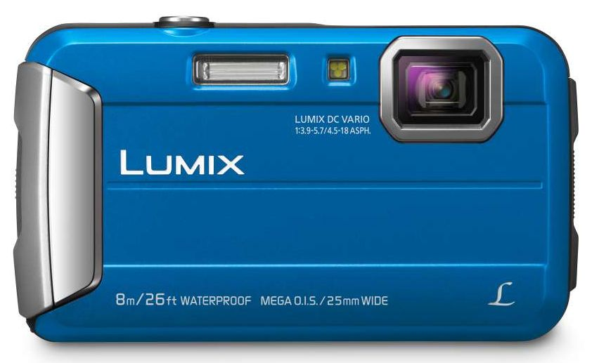 Panasonic - 16.1MP Lumix Tough Digital Still Camera - Blue