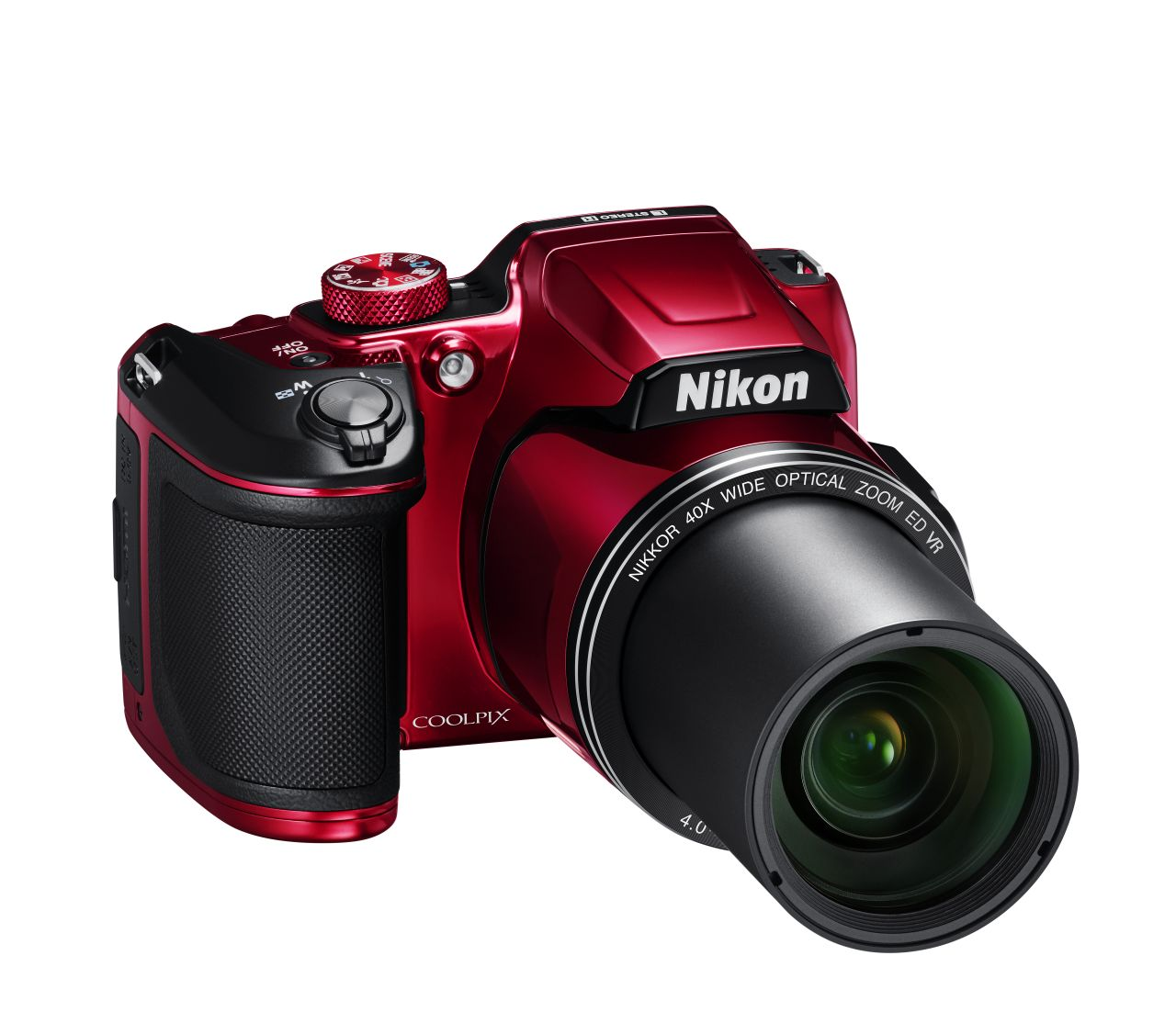 Nikon - 16MP CoolPix B500 Digital Still Camera - Red