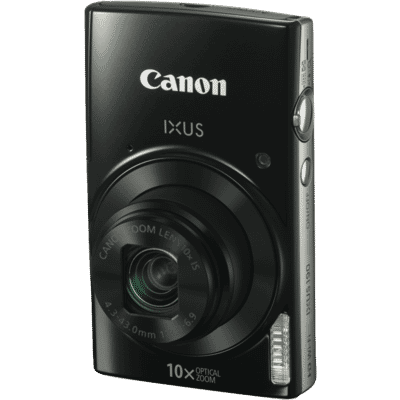 Canon - 20MP Ixus190 Digital Still Camera - Black