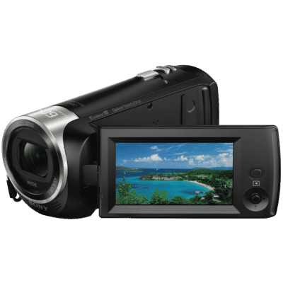Sony - 9MP HDR-CX405 Full HD Video Camera - Black